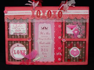melissa took a naked pizza box from 7 gypsies and decorated it with anna griffin paper to make this adorable valentine box use it to save your favorite