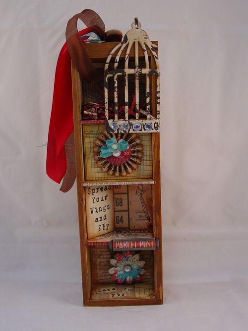 7 Gypsies Mini Library Drawer